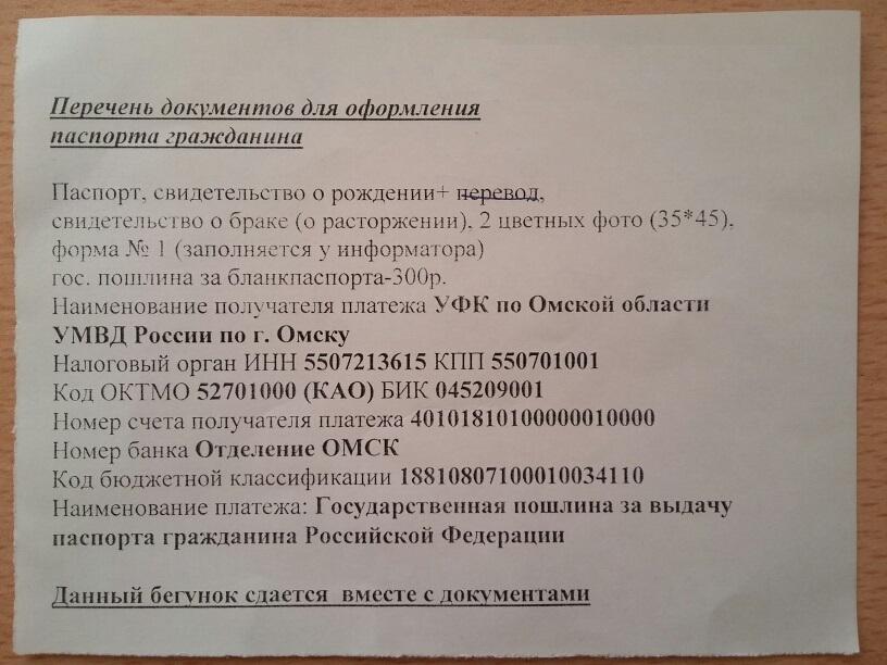 Перечень документов для оформления паспорта гражданина.jpg